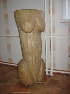 Moters skulptūra