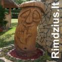 Eugenijus Rimdžius - medžio skulptūrų meistras